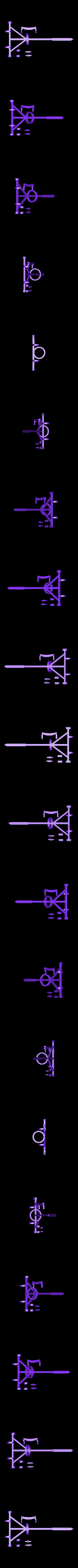 Glider_mainframe.stl Download free STL file Leonardo Da Vinci - Ornithoper • Design to 3D print, Slagerqod
