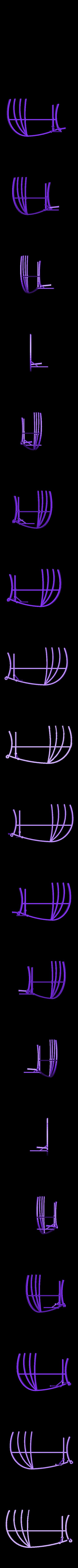 Glider_WL.stl Download free STL file Leonardo Da Vinci - Ornithoper • Design to 3D print, Slagerqod