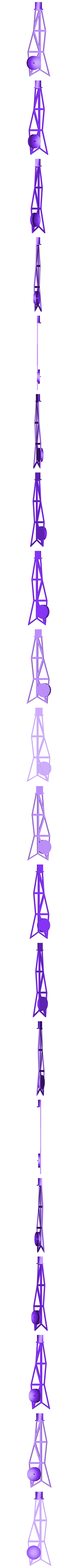 Mariner_Antenna.stl Download free STL file Mariner • 3D printable object, Slagerqod