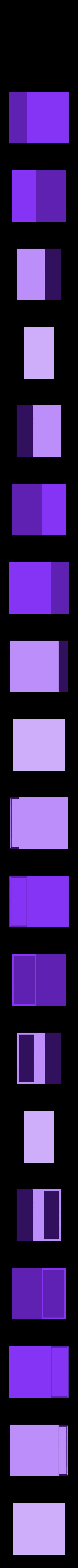 clip_system_w_box_bottom.stl Télécharger fichier STL gratuit Boîte avec système de verrouillage *NOUVEAU • Modèle pour imprimante 3D, Khuxtan