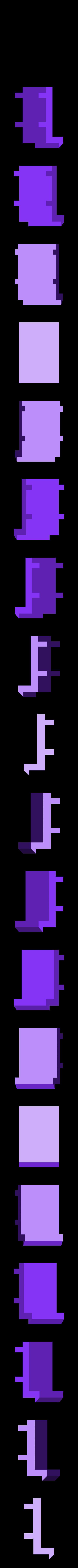 clip_system_w_box_clip.stl Télécharger fichier STL gratuit Boîte avec système de verrouillage *NOUVEAU • Modèle pour imprimante 3D, Khuxtan