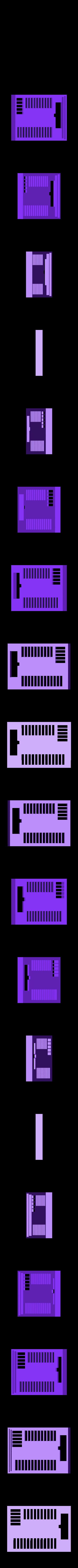 board_case2.STL Télécharger fichier STL gratuit Traxbot - une construction EZ-robot • Design imprimable en 3D, Laevalia