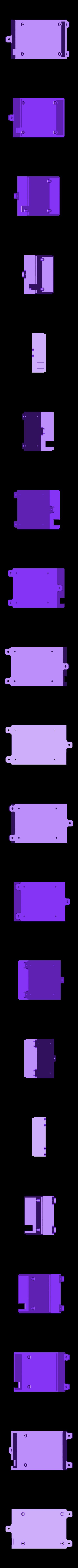 board_case1.STL Télécharger fichier STL gratuit Traxbot - une construction EZ-robot • Design imprimable en 3D, Laevalia