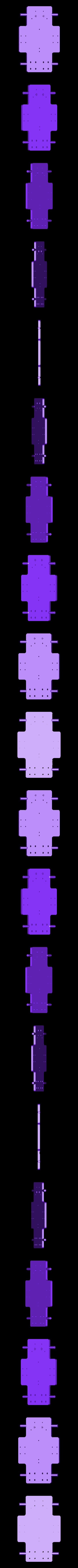 base_plate.STL Télécharger fichier STL gratuit Traxbot - une construction EZ-robot • Design imprimable en 3D, Laevalia