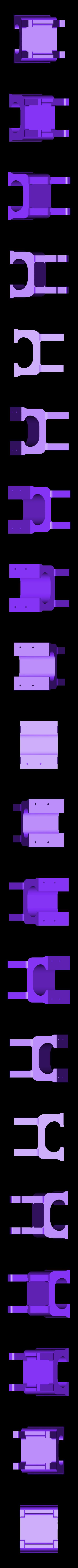 servo_mount2_ver2.STL Télécharger fichier STL gratuit Traxbot - une construction EZ-robot • Design imprimable en 3D, Laevalia
