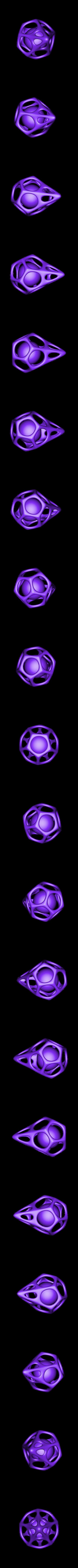 dodecahedron_2.stl Télécharger fichier STL gratuit Objet 3D 10 • Objet pour impression 3D, Wailroth3D