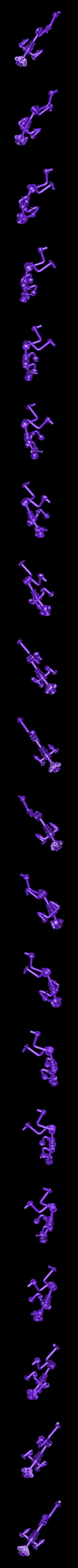 Gewichtheber.stl Download free STL file Bodybuilder • 3D printer model, Wailroth3D