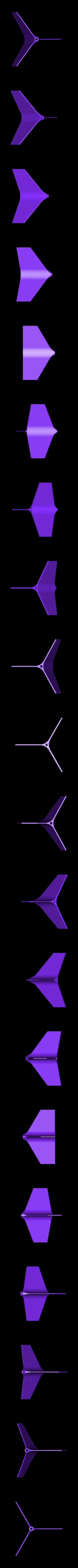 J-Dart_v1.stl Télécharger fichier STL gratuit Ailerons de fléchettes de pelouse avec limes Fusion360 • Modèle pour impression 3D, Phaedrux