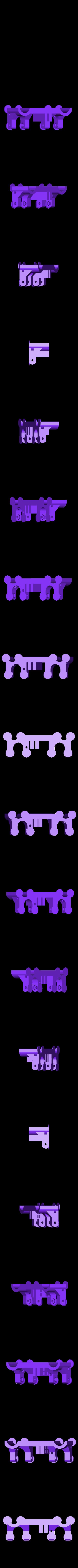 front_belt_carriage.stl Télécharger fichier STL gratuit Chariot vertical avec fixation à la ceinture avant • Objet imprimable en 3D, Tarkhubal