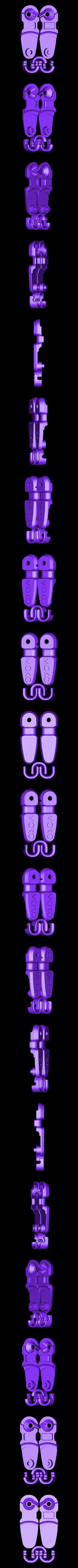 MOKO_minipulley_OPEN.STL Download free STL file MOKO Mini Pulley • 3D printer design, Skyralris