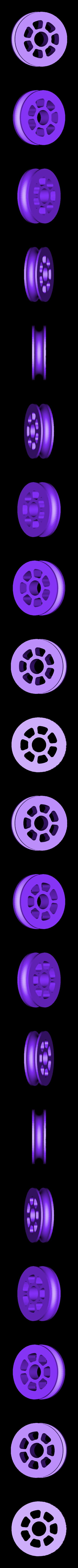 MOKO_pulleywheel.STL Download free STL file MOKO Mini Pulley • 3D printer design, Skyralris