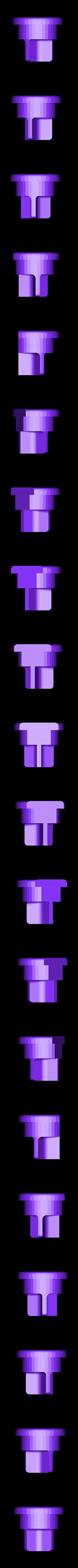 Feederbot_Adapter.stl Download free STL file Feederbot spool adapter • 3D print template, Gaenarra