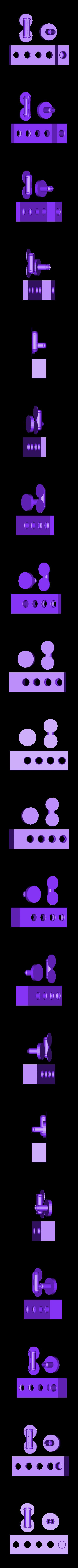 pla_pins_test.stl Télécharger fichier STL gratuit Connecteurs à broches PLA v2 • Design à imprimer en 3D, Gaenarra