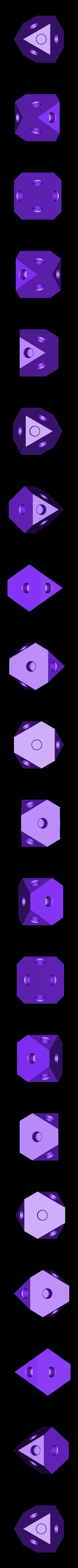 center_plate.stl Télécharger fichier STL gratuit PLA Companion Cube Gears • Modèle imprimable en 3D, Gaenarra