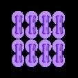 pin_plate.stl Télécharger fichier STL gratuit PLA Heart Gears v2 • Plan à imprimer en 3D, Gaenarra