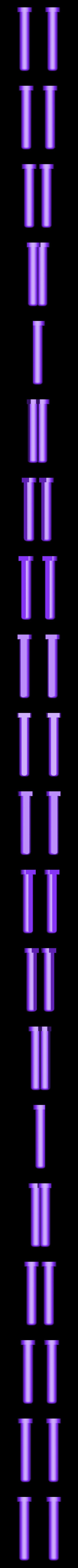 Hinge_Pin.stl Télécharger fichier STL gratuit Matériel de montage de boîtier pour réplicateur 2 • Objet pour impression 3D, Gaenarra