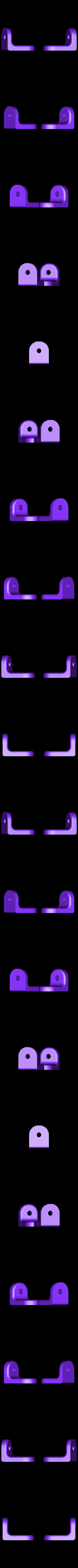 Hinge_Plate.stl Télécharger fichier STL gratuit Matériel de montage de boîtier pour réplicateur 2 • Objet pour impression 3D, Gaenarra