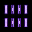 pin_plate-noTabs.stl Télécharger fichier STL gratuit PLA Companion Cube Gears • Modèle imprimable en 3D, Gaenarra