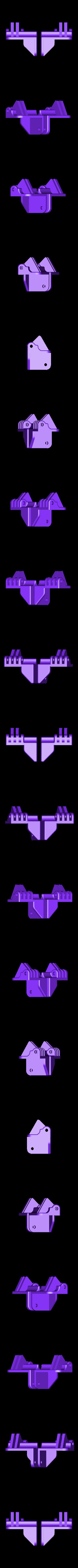 Replicator_Hinge.stl Télécharger fichier STL gratuit Matériel de montage de boîtier pour réplicateur 2 • Objet pour impression 3D, Gaenarra