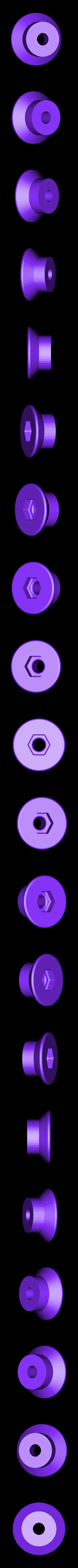 Side_Panel_Retainer.stl Télécharger fichier STL gratuit Matériel de montage de boîtier pour réplicateur 2 • Objet pour impression 3D, Gaenarra