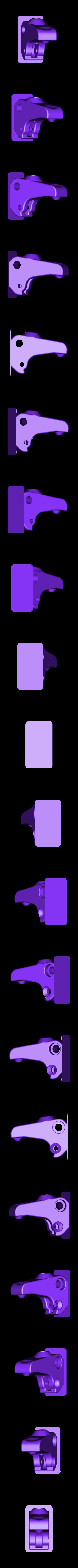2X_Upgrade_-_Arm_V2_-_L.stl Télécharger fichier STL gratuit Mise à niveau de l'extrudeuse Replicator 2X • Modèle imprimable en 3D, Gaenarra