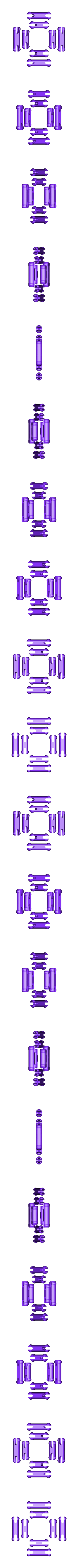 PLA-gear-heart-pins.stl Download free STL file PLA Heart Gears for Replicator 2 • 3D printer model, Gaenarra