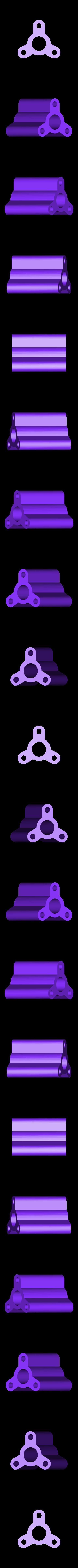 D52.5mm x L60mm Spool adapter A.STL Download STL file Spool Holder Hub Adapters • Template to 3D print, PlanetBlue