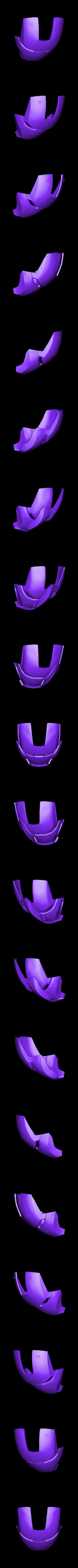 mask.stl Télécharger fichier STL gratuit casque d'homme de fer (portable) • Modèle à imprimer en 3D, kimjh