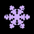 snowflake_single.stl Télécharger fichier STL gratuit Ornement de flocon de neige Icosahedron • Modèle imprimable en 3D, Ristrorg