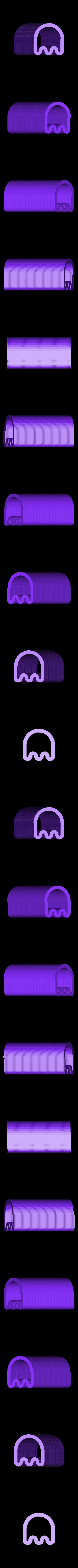 PacManGhostSlinky.stl Download free STL file Slinkies • Template to 3D print, Ristrorg