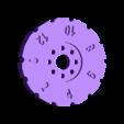 Truck_Wheel-Ruler.stl Download free STL file Rolling Ruler / Truck Pencil Case - #backtoschool • 3D print model, Dournard