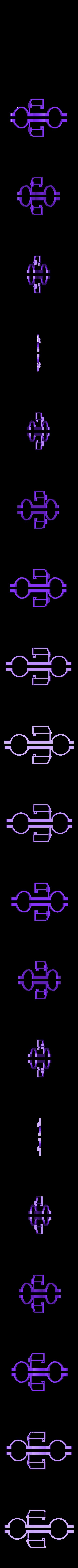 Truck_v4_Fender.stl Download free STL file Rolling Ruler / Truck Pencil Case - #backtoschool • 3D print model, Dournard