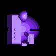 Rover_Attachment_Base_v1.stl Télécharger fichier STL gratuit Astronaut Action Figure Play Set pour l'invasion extraterrestre de Mars • Modèle à imprimer en 3D, Dournard