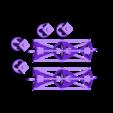 Structures_v2.stl Télécharger fichier STL gratuit Astronaut Action Figure Play Set pour l'invasion extraterrestre de Mars • Modèle à imprimer en 3D, Dournard