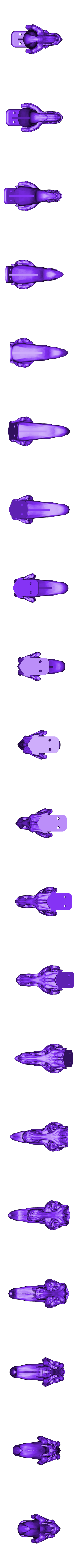 TRex_Tongue_Hook_v3.stl Download free STL file T-REX Remix Bathroom Set • Design to 3D print, Dournard