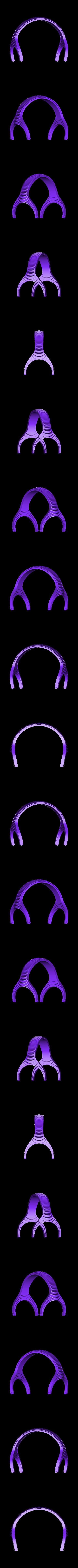 HeadphoneBand.STL Télécharger fichier STL gratuit Bandeau de rechange Beyer Dynamic DT-770 • Design pour imprimante 3D, Minnarrra