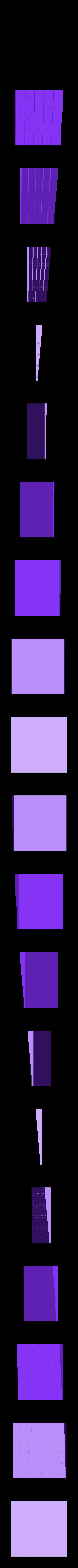 multiplication-cubes_multiplication_tables_deluxe_optimized_for_braille__20131028-4926-18ftkty-0.stl Télécharger fichier STL gratuit Table de multiplication optimisée 5x5 braille • Modèle imprimable en 3D, Durbarod
