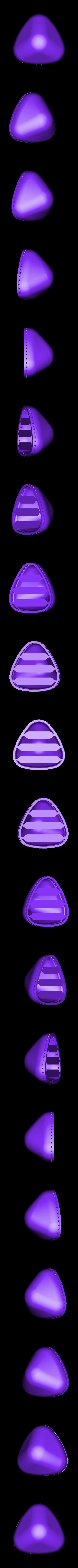 blob.stl Download free STL file Blob - zipper pouch • 3D printable template, Yazhgar