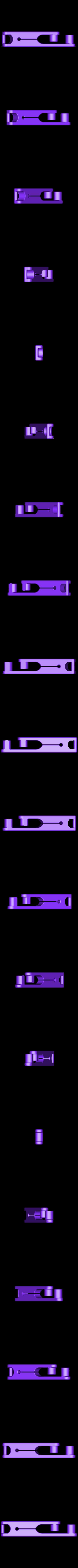 SpringClip-Rev1.stl Download free STL file Carabiner with strong clip • 3D printer object, Raeunn3D