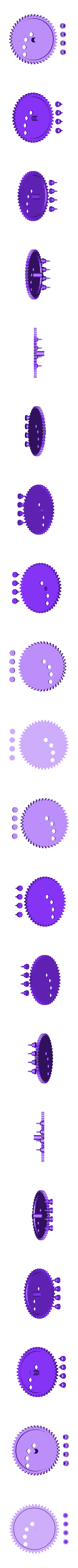 large_tracing_gear_and_pins.stl Download free STL file Sand Spirograph • 3D printing object, Istareyn