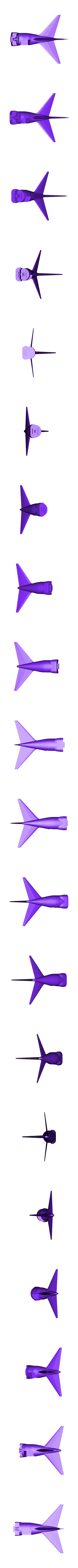 Tail_section.stl Download free STL file SOFIA, the Stratospheric Observatory for Infrared Astronomy • 3D printable design, spac3D