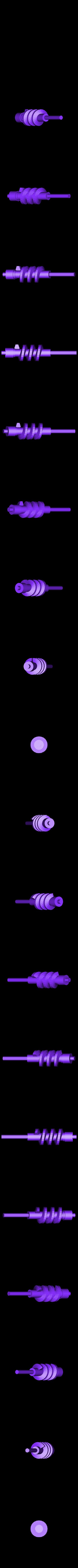 worm_gear.STL Télécharger fichier STL gratuit Mini éolienne verticale • Modèle imprimable en 3D, Urukgar4D