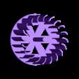 turbine_bottom.STL Télécharger fichier STL gratuit Mini éolienne verticale • Modèle imprimable en 3D, Urukgar4D