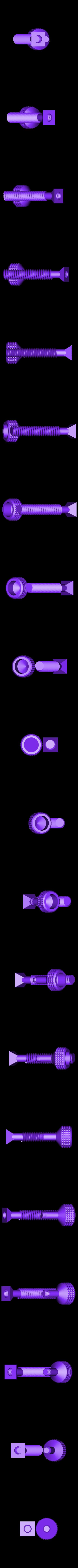 Screw.STL Download free STL file Platform Jack  [Fully Assembled, No Supports] • Object to 3D print, Bolrod