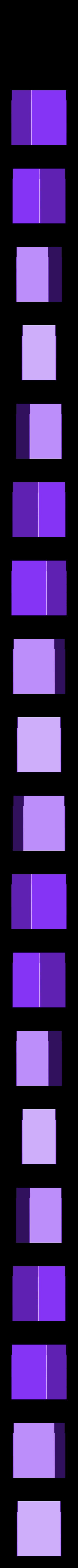 bottom_half.STL Download free STL file Triple Deck Box • 3D print model, Bolrod