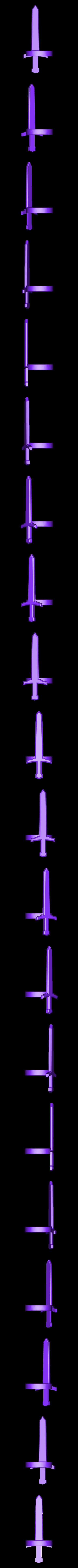 Sword.stl Télécharger fichier STL gratuit Armure du pouce • Modèle pour imprimante 3D, Bolrod