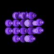 HalfSet.stl Télécharger fichier STL gratuit Jeu d'échecs • Modèle pour imprimante 3D, Bolrod