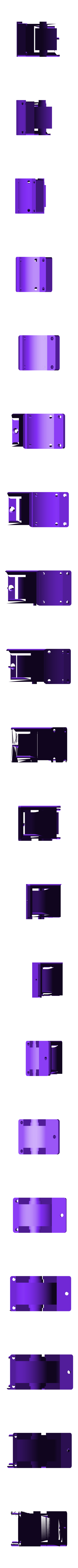MRCC_OBTS_FRD_TOP.stl Download STL file MyRCCar 1/10 On-Road Build for Tesla Model S Body RC Car • 3D print object, dlb5