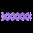 customizablechainmailbraceletv2_Solid20130308-15454-r29k3h-0.stl Télécharger fichier STL gratuit Braclette double hélice • Modèle imprimable en 3D, Yipcott