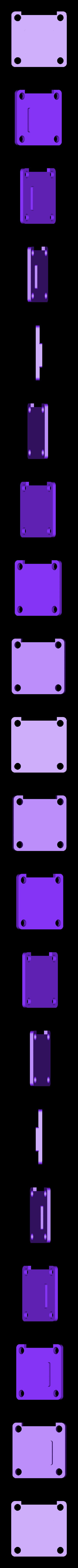 MiniSplit_Doors.stl Télécharger fichier STL gratuit Split Mini - Couvercle du boîtier • Objet pour imprimante 3D, Gophy
